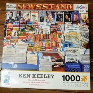 Ken Keeley 1000 Piece Puzzle